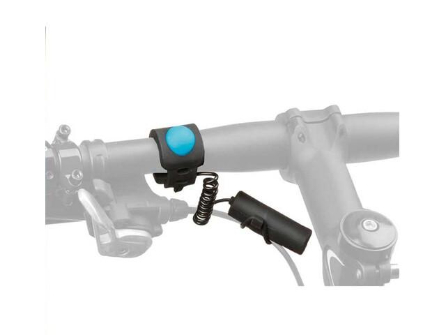 M-Wave Elektrische Klingel für E-Bike Ø22,2-31,8mm Schwarz